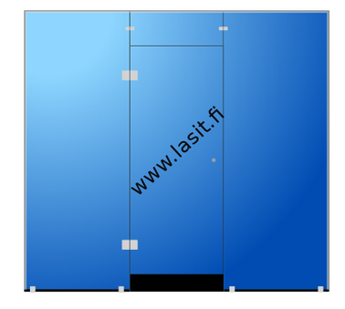 Saunan lasiseina Moderni Lasikauppa WWW_LASIT_FI Sauna glass wall 8mm tempered glass